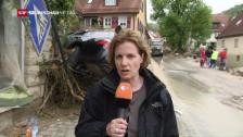 Video «ZDF-Reporterin: «Geschockte Leute in Braunsbach»» abspielen