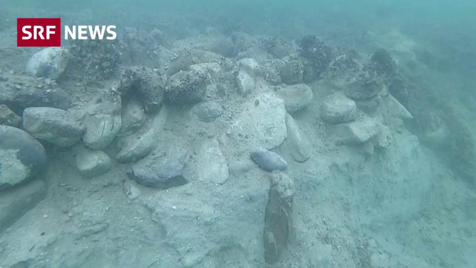 Mysteriöse Steinhügel im Bodensee