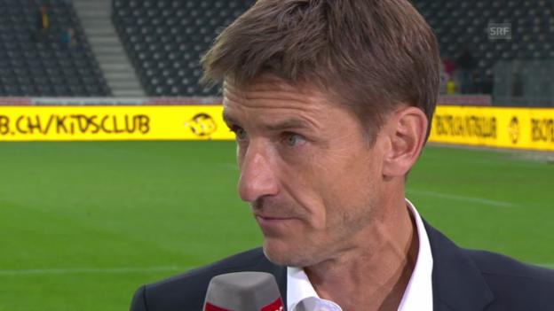 Video «Interview mit Urs Meier («sportlive»)» abspielen