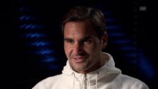 Link öffnet eine Lightbox. Video Federer: «Spiele fürs Leben gern auf Rasen» abspielen