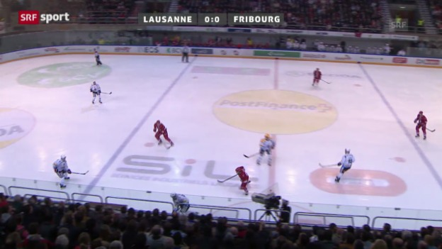 Video «NLA: Lausanne - Fribourg-Gottéron» abspielen