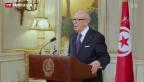 Video «Ausnahmezustand in Tunesien» abspielen