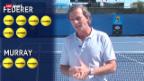 Video «Günthardt zu Federer - Murray» abspielen