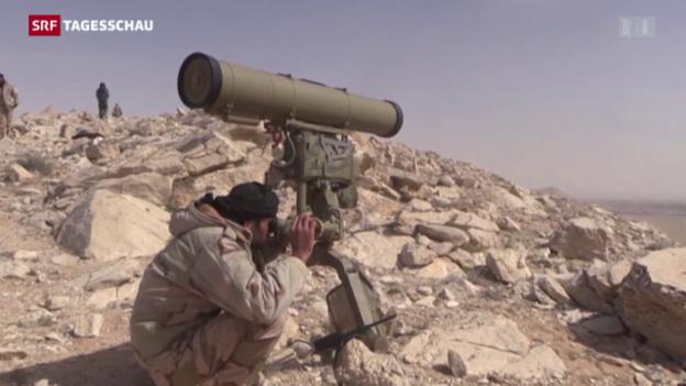 Video «IS steht unter starkem Druck» abspielen