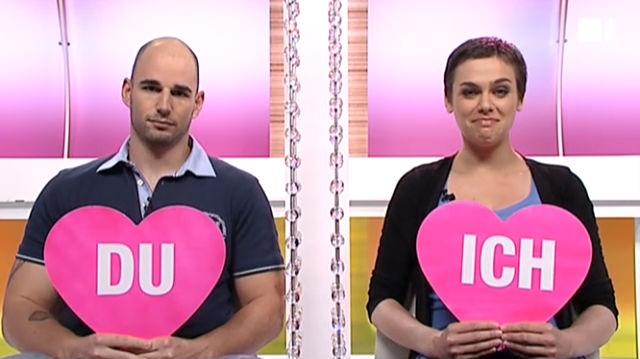 Ich oder Du: Nina Burri und Freund Stefan Schwitter