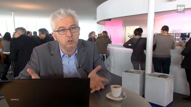 Hervé Lebret, Verantwortlicher des EPFL-Förderprogramms für Start-ups, zur Schaffung von Arbeitsplätzen dank Jungunternehmen (frz.)