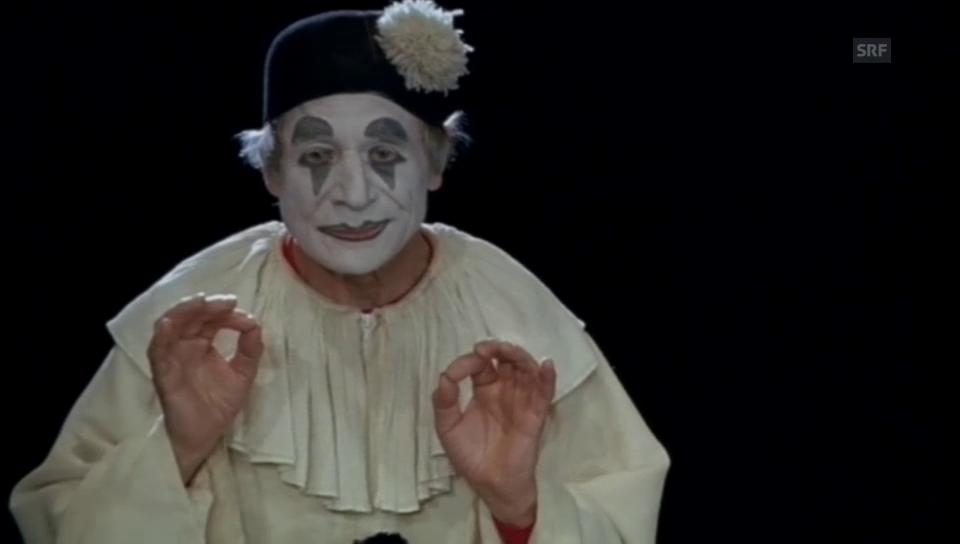 «Dimitri – Clown» von Friedrich Kappeler, 2004