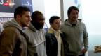 Video «Fussball: Neujahrs-Apéro beim FC Basel» abspielen