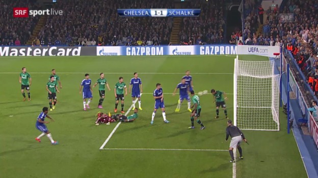 Video «Fussball: Champions League Gruppenphase, Chelsea - Schalke» abspielen