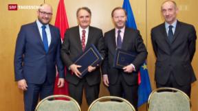 Video «Schweiz will Personenfreizügigkeit auf Kroatien ausweiten» abspielen
