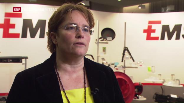 Video «Ems-Chemie steigert Gewinn» abspielen