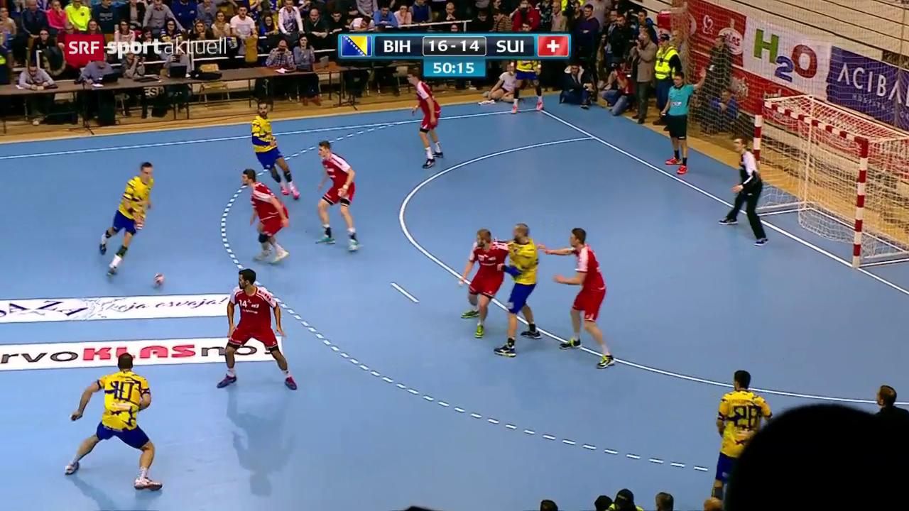 WM-Traum der Handball-Nati platzt in Bosnien