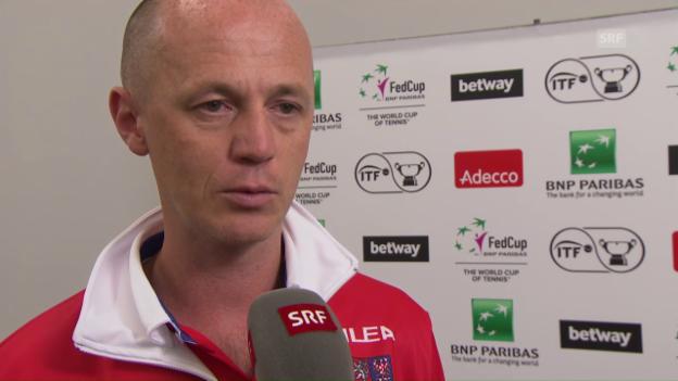 Video «Interview mit Tschechiens Captain Petr Pala» abspielen
