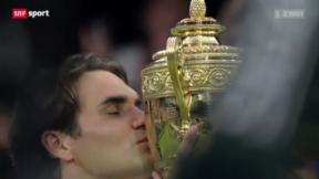 Video ««Tscheggsch de Pögg»: Die Pokale des Roger Federer» abspielen