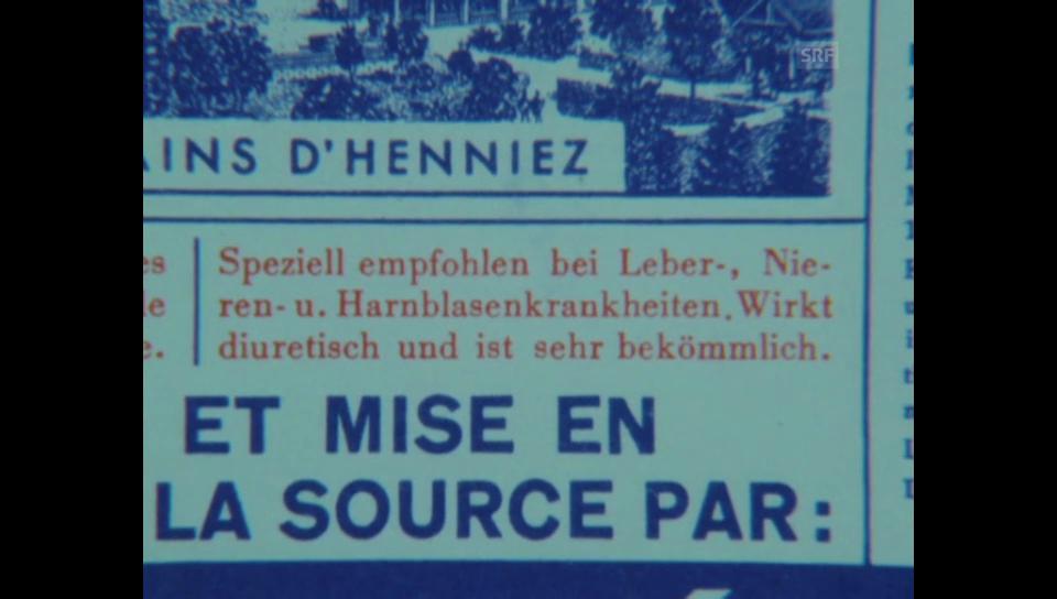 Kassensturz 12.04.1976: Henniez mit wenig Mineralien