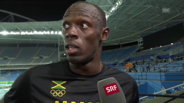 Video «Bolt: «Ich will als der Coolste in Erinnerung bleiben»» abspielen