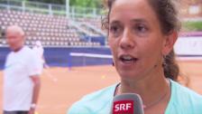 Video «Patty Schnyder vor Gstaad: «Habe ein gutes Gefühl»» abspielen