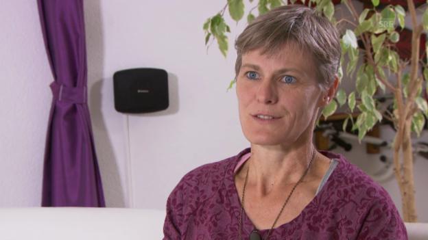 Video «Sabine Hediger über ihren Einsatz in Westafrika» abspielen