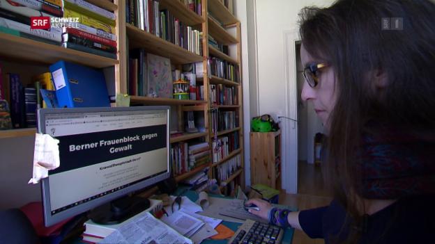 Video «Frauen wollen Gewalt an Demo verhindern» abspielen