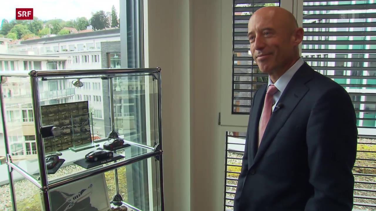 Der neue CEO der Raiffeisen-Bank: Patrik Gisel