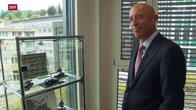 Video «Der neue CEO der Raiffeisen-Bank: Patrik Gisel» abspielen