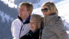 Video «Niederländische Royals in Winterferien» abspielen