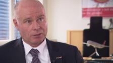 Video «Mark Skinner, Swissport, über die Investoren» abspielen