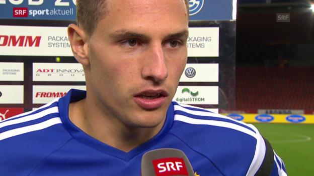 Video «Fussball: Schär und Sousa zur frühen Auswechslung» abspielen