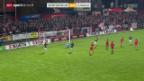 Video «Fussball: Cup, Winterthur - Lugano» abspielen