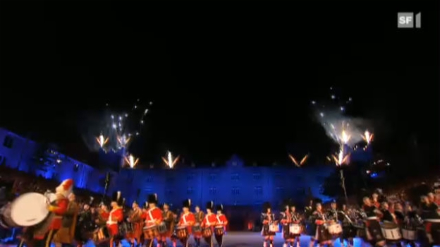 Video «Basel Tattoo 2011» abspielen