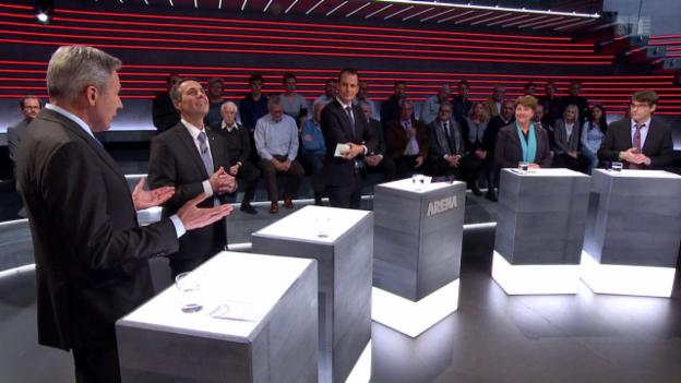 Video «Wird die EU die Schutzklausel akzeptieren? #srfarena» abspielen