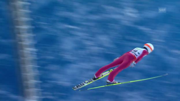 Video «Ammann fliegt über 200 Meter» abspielen
