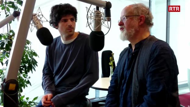 Laschar ir video «Luis Coray e Pascal Gamboni sin vista tar RTR»
