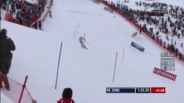Video «2. Lauf Marc Gini («sportlive»)» abspielen