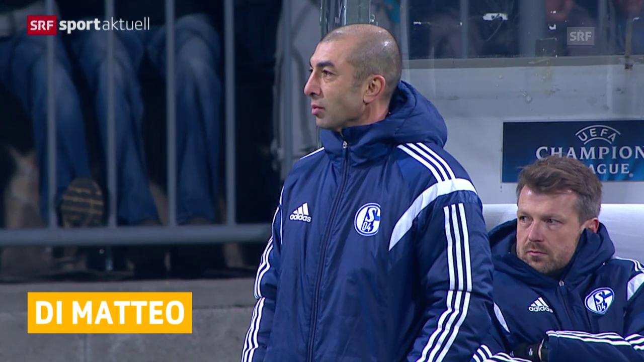 Fussball: Di Matteo verlässt Schalke