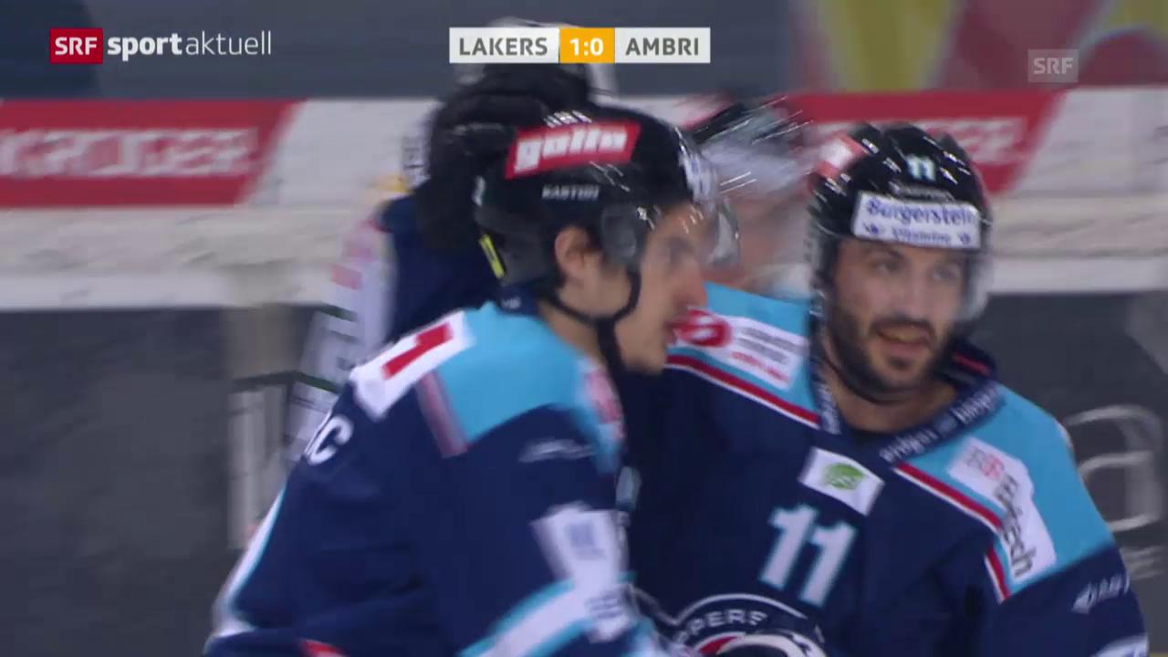 Eishockey: NLA, Rapperswil - Ambri