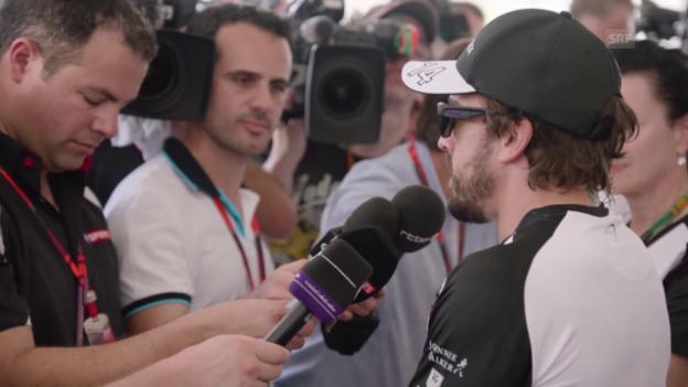 Video «Formel 1: Alonso vor dem GP von Malaysia» abspielen