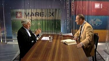 Video «Theorie und Praxis der Intrige - Peter von Matt im Gespräch mit Roger de Weck» abspielen