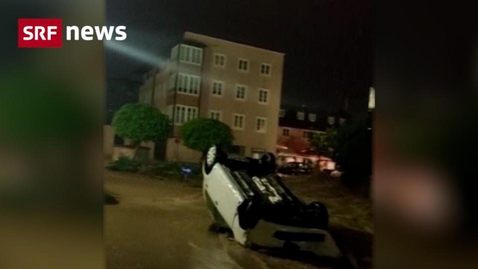 Hallein: Flut verwüstet Innenstadt