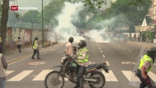 Video «Der Machtkampf in Venezuela eskaliert» abspielen