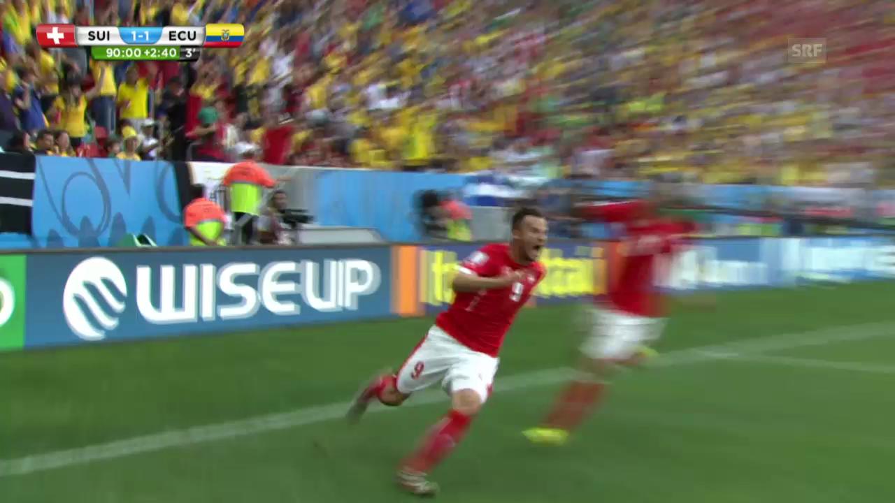 Schweiz-Ecuador: Die Highlights