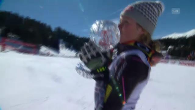 Ski: Kleine Kugel für Shiffrin