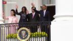 Video «Chinas Präsident in den USA zu Besuch» abspielen