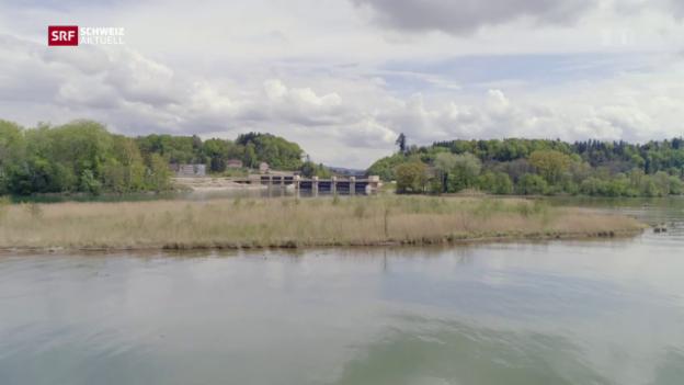 Video «Aare-Hagneck-Kanal ausgezeichnet» abspielen