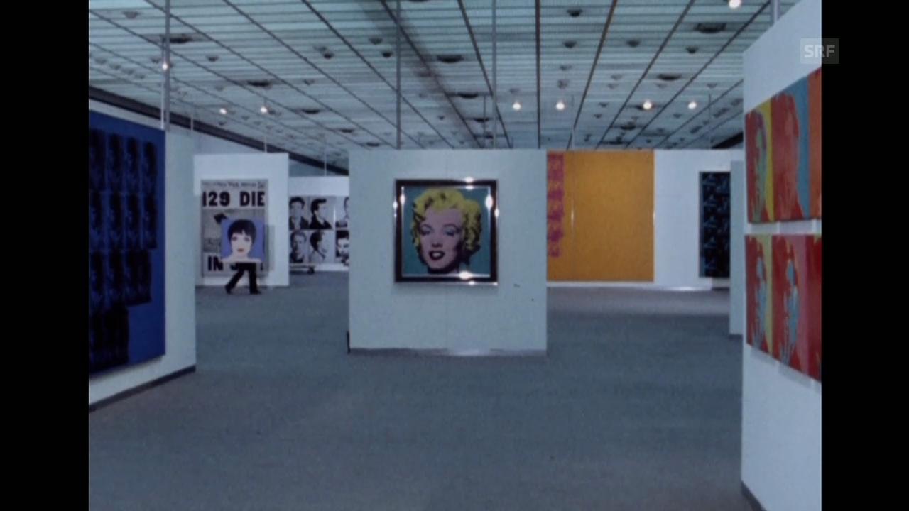 Warhol-Retrospektive (Karussel, 29.5.1978)