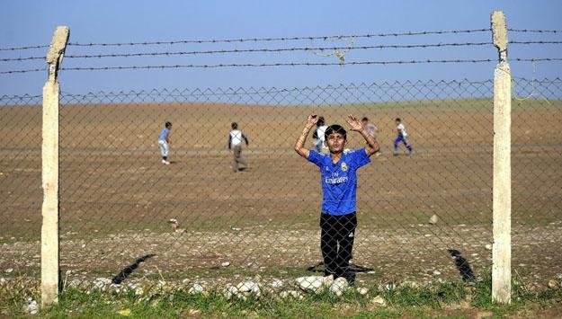 Besuch im Flüchtlingslager Baharka