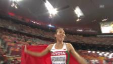 Video «Leichtathletik: WM in Peking, Final 800 m Frauen» abspielen