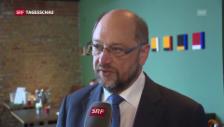 Video «Schulz für eine Zwischenlösung» abspielen