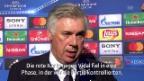 Video «Ancelotti kritisiert die Schiedsrichter-Leistung» abspielen