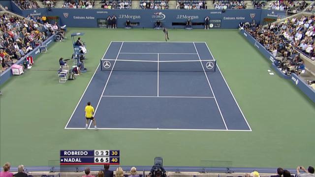 Highlights Nadal - Robredo